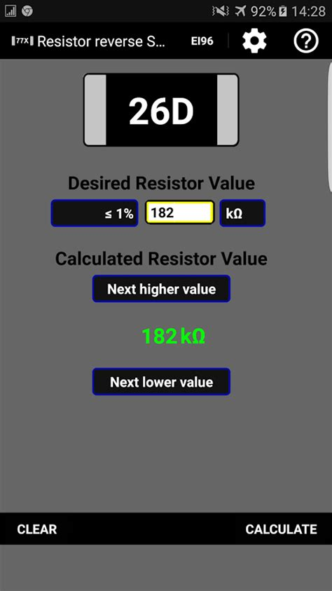 smd resistor code underline resistor smd code calculator android apps on play