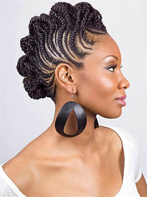 hairstyles braids mohawk beautiful and easy braided hairstyles for different types