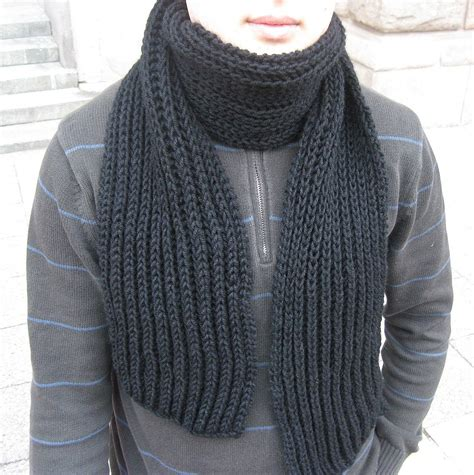 a manly patterns knitted scarves for free