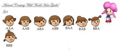 hairstyles on animal crossing wild world ds animal crossing hair guide black hairstyle and haircuts