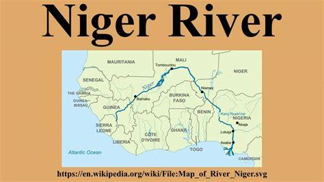 niger river map niger river