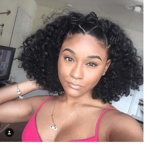 natural hair short in the back long in the front 35 gorgeous natural hairstyles for medium length hair