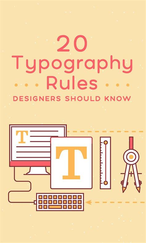 web design font rules best 25 typography tutorial ideas on pinterest