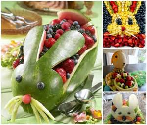 diy easter fruit platter ideas and tutorials