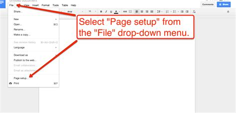 Landscape On Docs How To Create Documents With A Landscape