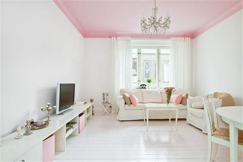 Wondering If I Should Paint Violet S Ceiling Pink As Well Ceiling Paint That Goes On Pink