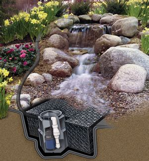 Backyard Rock Ideas Pondless Waterfalls Water Feature Supplies The Pond Guy