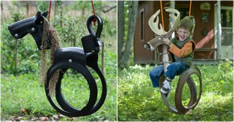 recycled tire swing horse how to turn recycled tires into a horse tire swing how