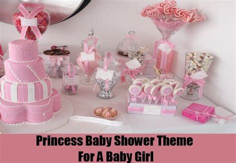 Princess Theme Baby Shower Decoration Ideas by Princess Themed Baby Shower Ideas Favors
