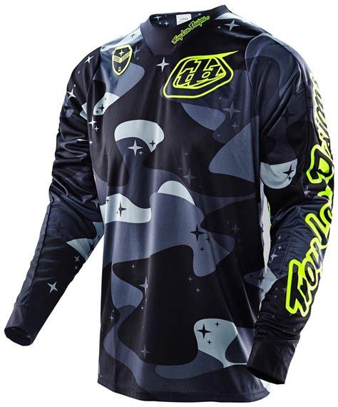 design jersey motorcros troy lee designs se cosmic camo jersey motocross jerseys