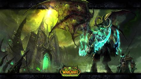 world of warcraft illidan world of warcraft illidan and the black temple motion background youtube