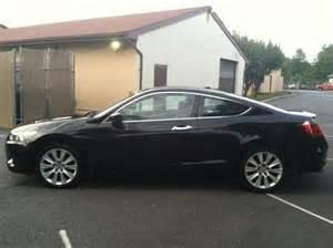 find used 2009 honda accord ex l v6 coupe manual 50k black