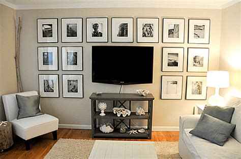 Increíble  Mueble Para Tv Ikea #4: Black-and-white-photo-gallery-wall1.jpg