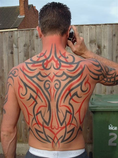 Tattoo Back Man Tribal | 31 tribal tattoos for men which are sexy creativefan