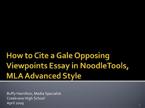 Opposing Viewpoints Essay by How To Cite A Gale Opposing Viewpoints Essay In Noodletools Mla Adva