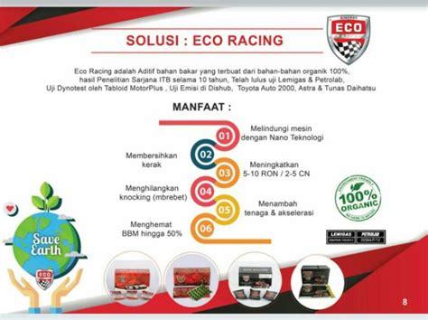 Eco Racing Mobil Penghemat Bbm Menghilangkan Polusi Perawatan Mesin eco racing sinergy world eco racing agen eco racing