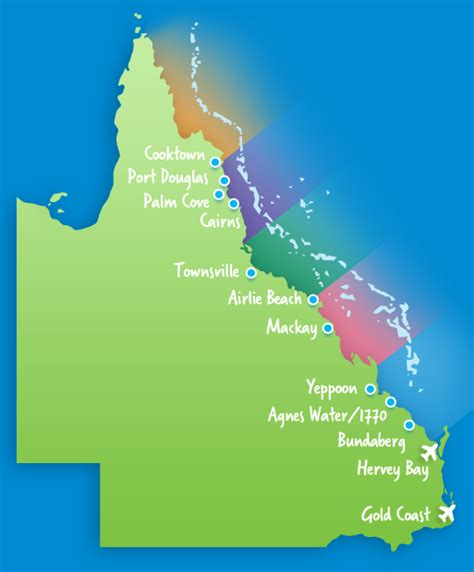great barrier reef map accessing the reef great barrier reef queensland australia