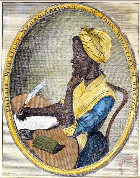 Others Phillis Wheatley painting   Phillis Wheatley print