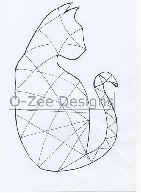 templates for zentangle cat zentangle template pdf a4