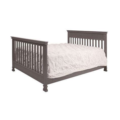 Weathered Gray Crib by Million Dollar Baby Classic Foothill 4 In 1 Convertible