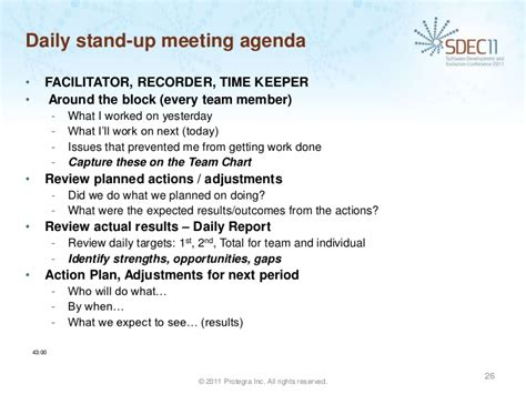 stand up meeting minutes template dan perron lim