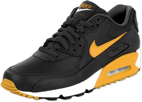 Nike Airmax 90 Black nike air max 90 le shoes black orange