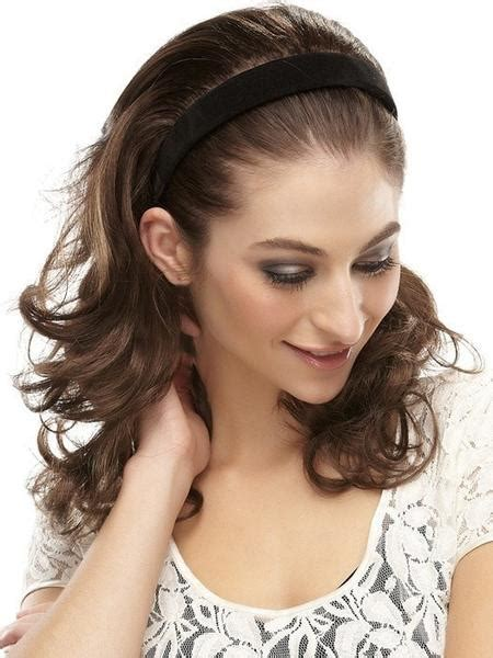 Hairpiece Pesta Hairpiece Headpiece impulsive by easihair 3 4 wig with headband wigs the wig experts