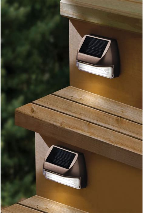 Solar Lights For Deck Steps Deck Steps Solar Lights Deck Design And Ideas