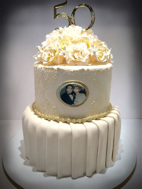 50th Wedding Anniversary Cakes by 17 Best Ideas About 50th Anniversary Cakes On