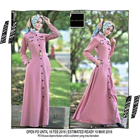 Dress Gamis Dewasa Mahira Baju Muslim Formal Denim Terbaru gamis terbaru wa 08127 60 888 06 pusat busana
