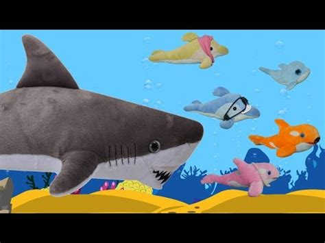 baby shark in korean i m an origami baby shark puppet animal songs