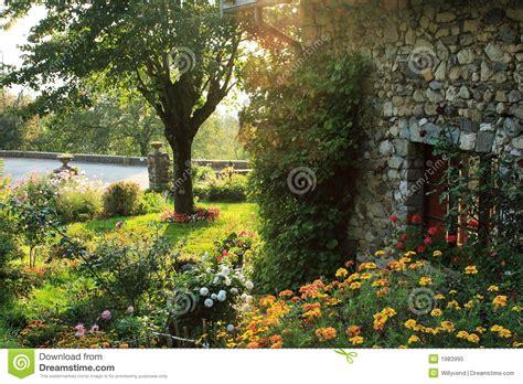 garden   french countryside royalty  stock photo