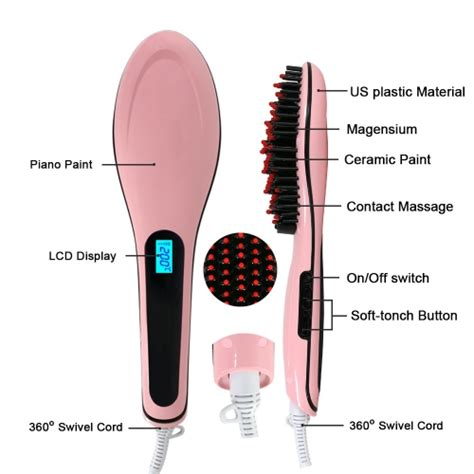 Sale Sisir Semir Pewarna Rambut Coloring Brush As Seen On Tv toko shop yang termurah dan terpercaya magic hair brush electric comb hair