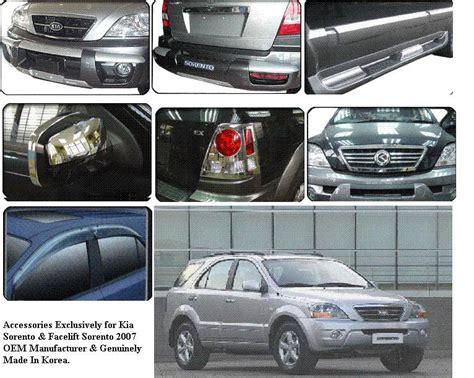 Kia Parts Accessories Kia Sorento Accessories Motorworld Asia Trading