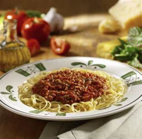 Olive Garden Spaghetti Sauce by Capellini Hair Pasta With Sauce Recipe