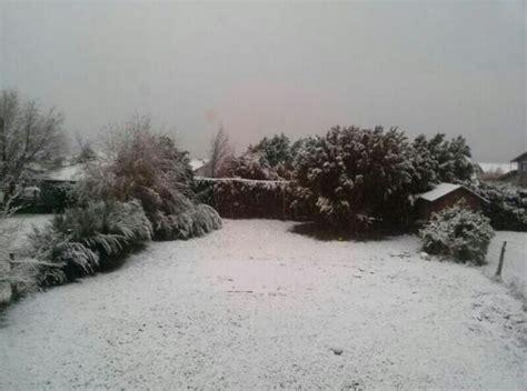 cadenas para nieve zona oeste bariloche se cubre de nieve el diario 24
