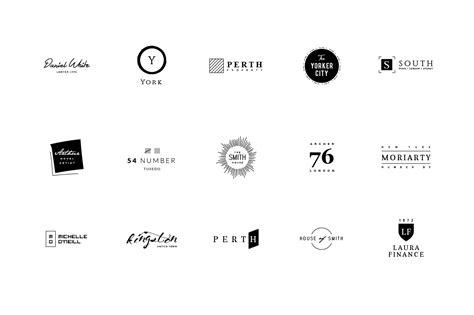 best minimalist logos 60 minimalist logos logo templates on creative market