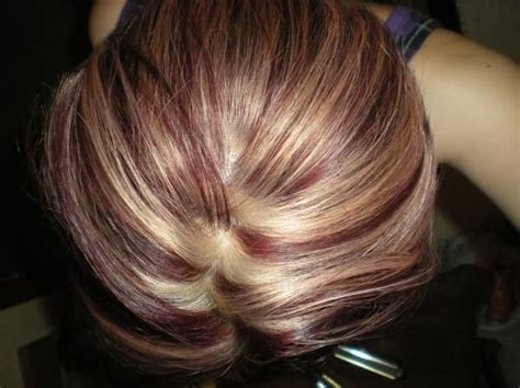 ideas  red violet highlights  pinterest