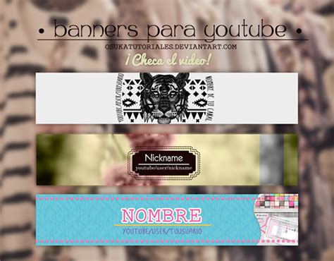 35 amazing free youtube banner templates psd download