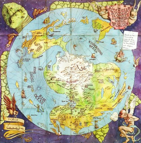 discworld map how to write series do s and don ts now novel