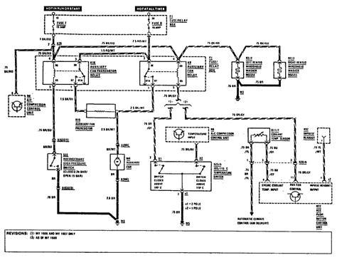 mercedes cooling fan wiring diagram wiring diagram manual