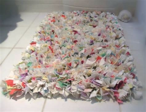 shabby chic rag rug 17 best images about easy patch bags on