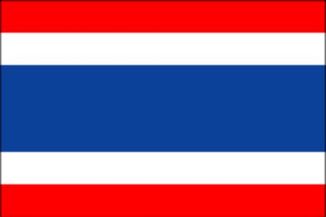 flags of the world red white blue horizontal cia the world factbook 2002 flag of thailand