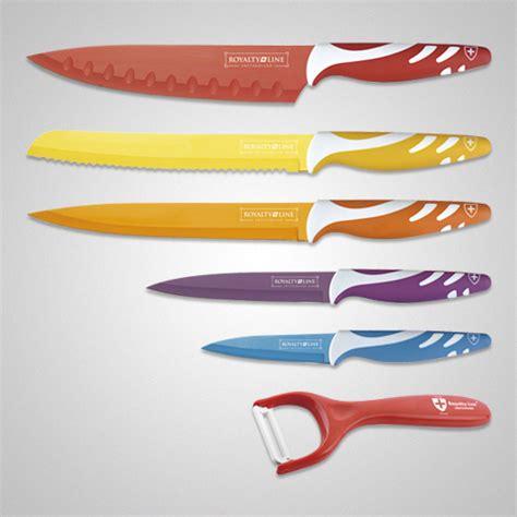 Knife Set Royalty Line rl col7 royalty line precision cooking