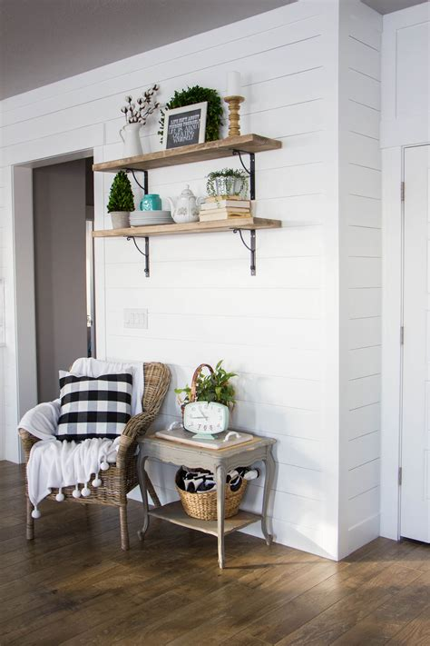 Shiplap Dining Room Tips For Creating A Shiplap Accent Wall Honeybear