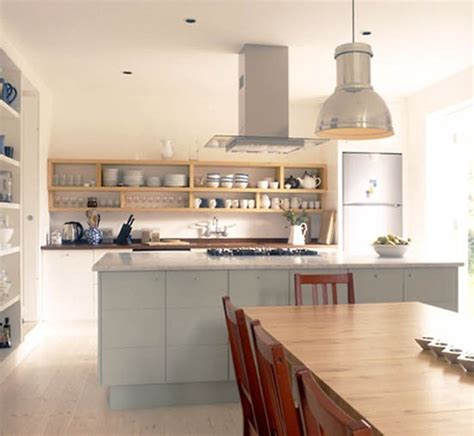kitchen open shelves ideas retro modern kitchen decorating ideas open kitchen