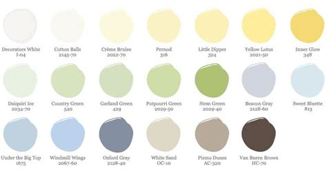 paint colors colorways
