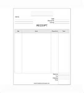 business receipt template 7 free word excel pdf