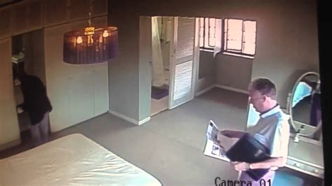 cctv captures robbery during show house south africa