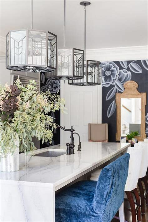 waterfall kitchen island design ideas